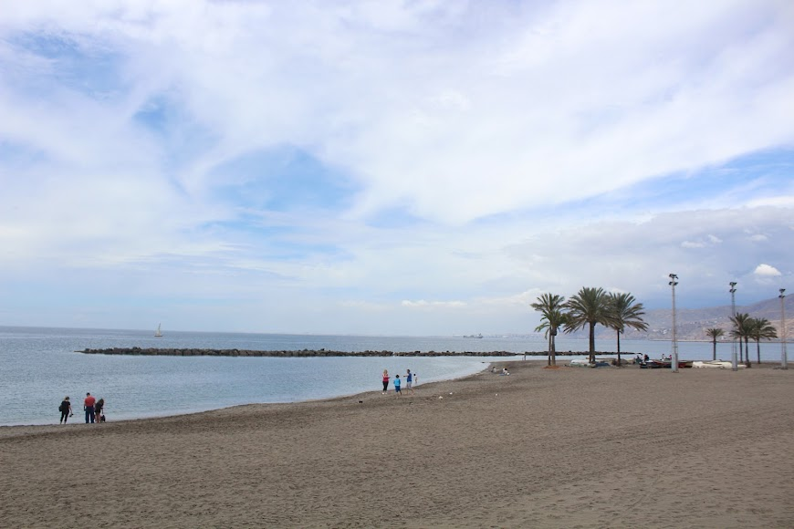 Almería, playas de la ciudad.
