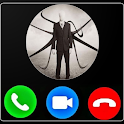 Fake  Call From Scary  slender man Horror Prank icon