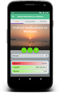 Notifications on Windows for Android