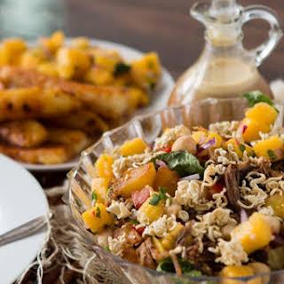 Crunchy Polynesian Pork Salad.