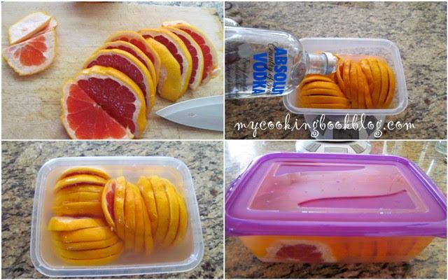 Ликьор с грейпфрут или домашно Кампари