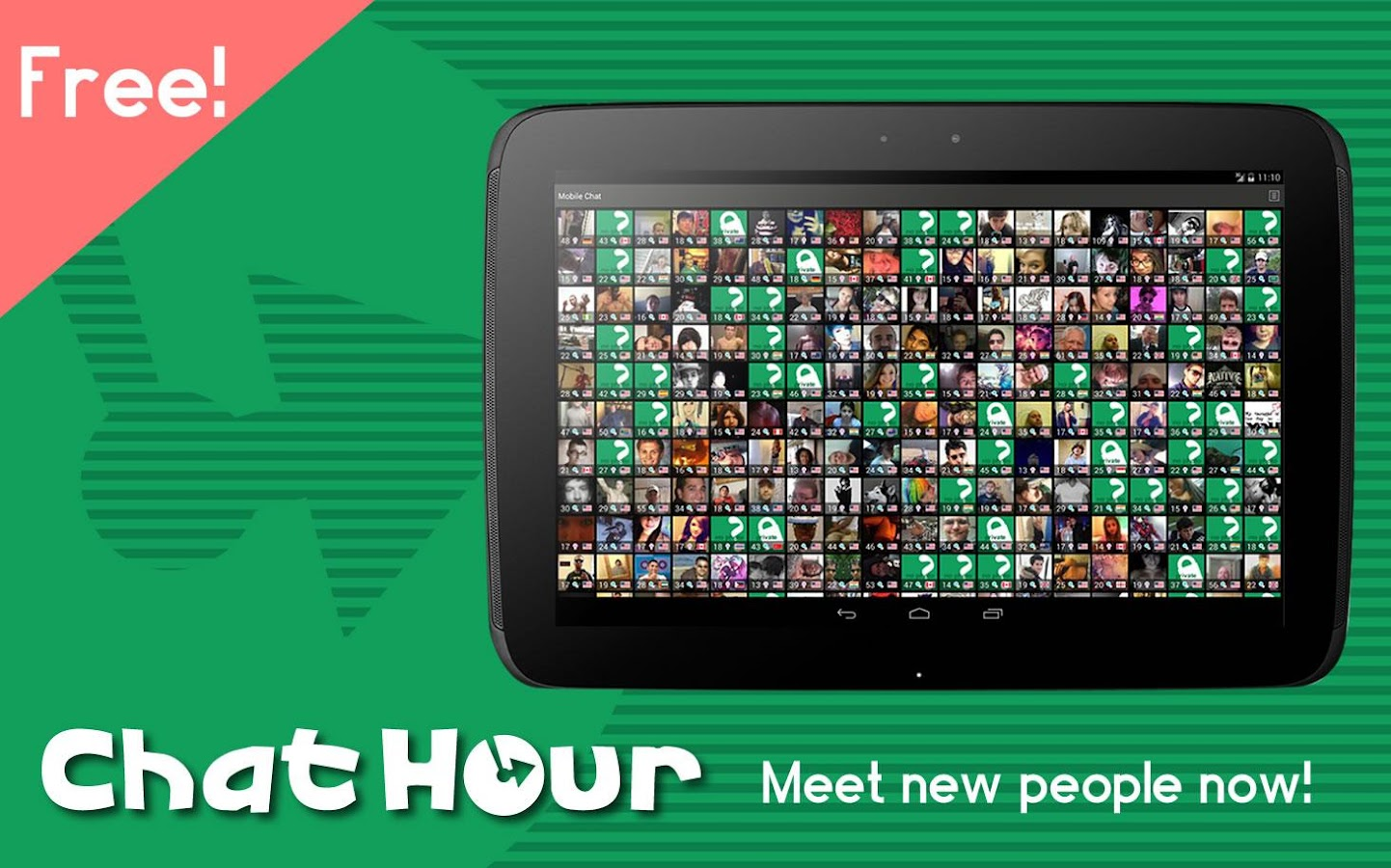 Chat Hour - Meet Flirt Friends- screenshot