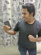 Photo: Sunday giveaway winner Sanjeev showing off his new Google Pixel XL.