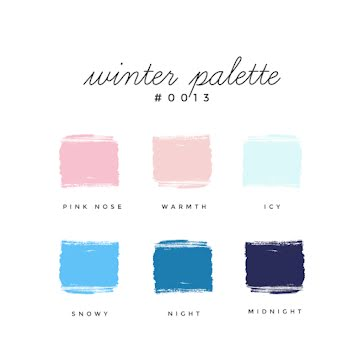 Winter Palette - Color Palette Template