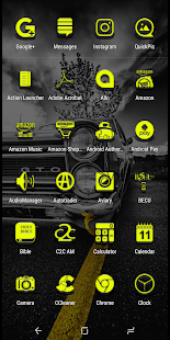 Ext Yellow Icon Pack - náhled