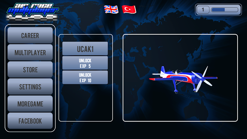 android Air Plane Race Multiplayer Screenshot 3