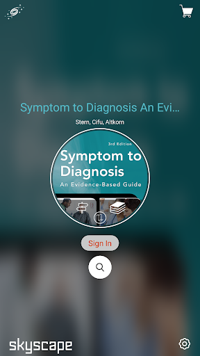 Symptom to Diagnosis An Evidence Based Guide screenshot for Android