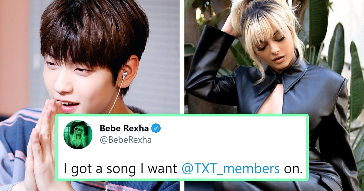 Bebe Rexha Asked TXT To Feature On A Song, And Soobin's Response Is So Him