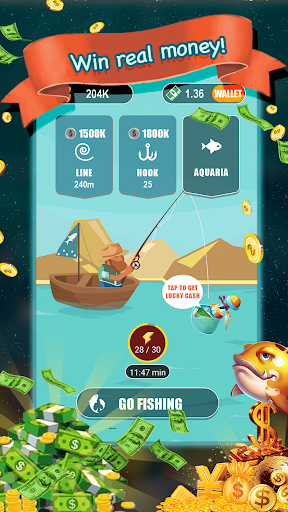Go fishing! - Win Real Money! - screenshot