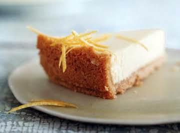 Passover Lemon Cheesecake