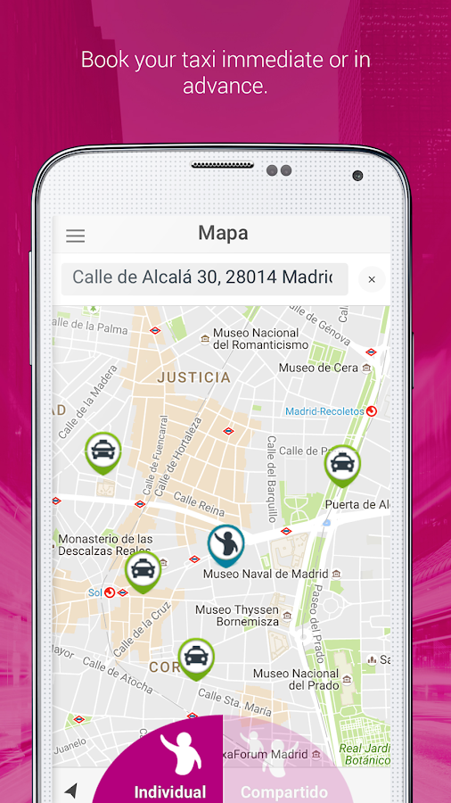 JoinUp taxi Passenger- screenshot