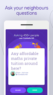 Neighbourly: Ask Local Questions & Get Answers Screenshot