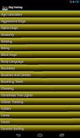 Screenshot of Dog Training