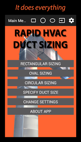 Download Rapid HVAC Duct Sizing APK latest version App by