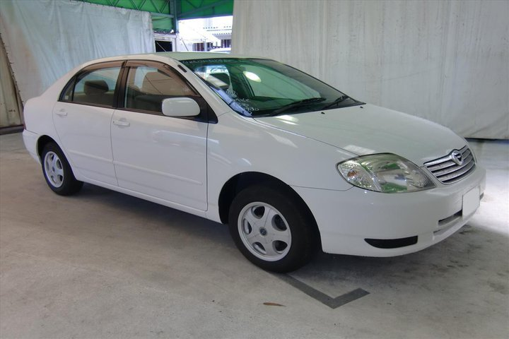 Photo: 2003 Toyota Corolla  IBC Japan Used Car Address: 64 Miyanomae-cho, Nakajima, Fushimi-ku, Kyoto, Japan Phone: +81 75 622 5091 (English) +81 75 622 5090 (Japanese) Fax: +81 75 622 2400 Email: csc@ibcjapan.co.jp Website: http://www.ibcjapan.co.jp