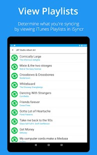 iSyncr : iTunes for Android - screenshot thumbnail