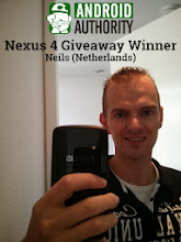 Photo: Nexus 4 - October 2013 Winner. Neils from the Netherlands!