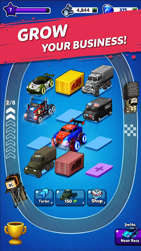 Merge Truck: Monster Truck Evolution Merger game 1.0.95 screenshots 3