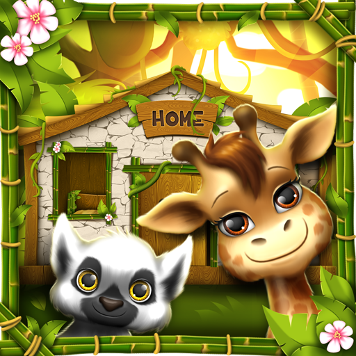 Jungle Animal House Decoration (app)
