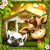 Jungle Animal House Decoration