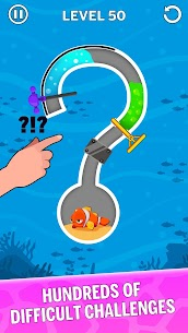 Water Puzzle – Fish Rescue & Pull The Pin 3