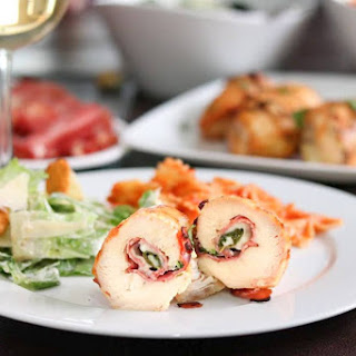 Grilled Italian Chicken Roll-Ups
