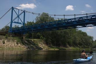 Photo: A simple and elegant two-lane bridge