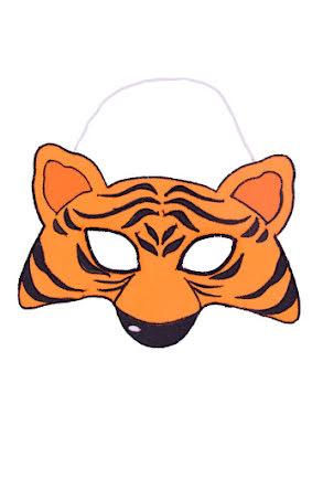 Barnmask, tiger