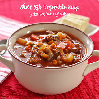 Short Rib Vegetable Soup.