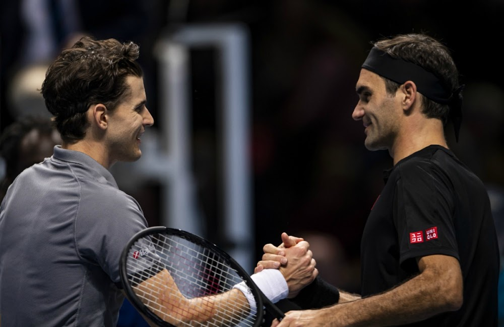 Roger Federer vows to push harder after Thiem defeat