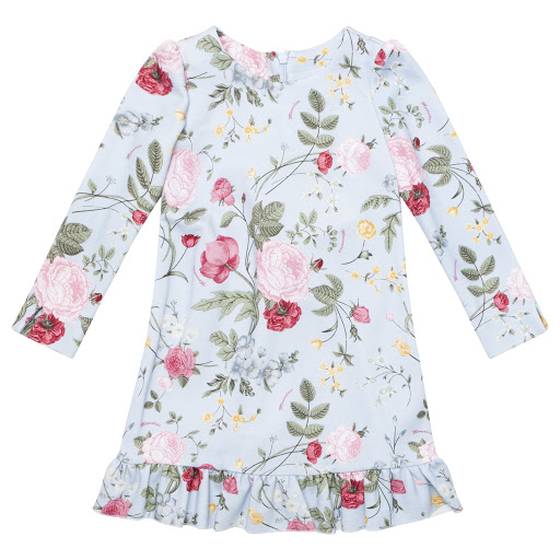 Primary image of Monnalisa Girls Floral Dress
