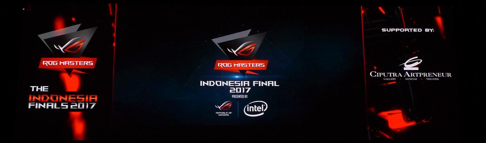 Hasil Akhir ROG Masters Indonesia Final 2017
