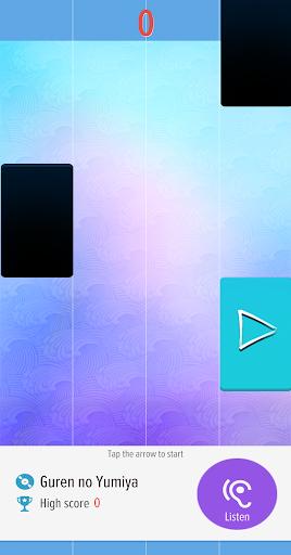 Piano Tiles Anime Songs Offline 2020 1.2.7 screenshots 2