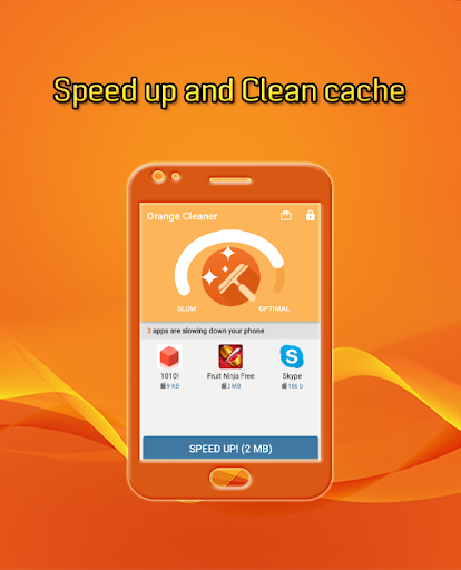 Orange Cleaner Speed Boost