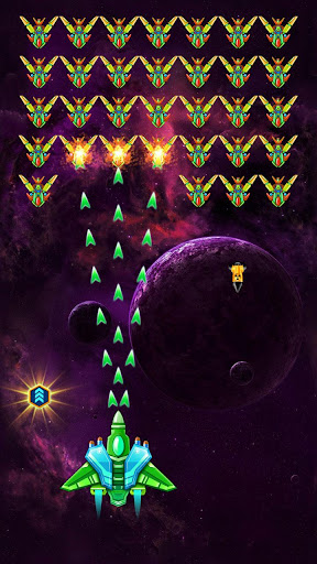Télécharger Galaxy Attack : Alien Shooter (Premium) APK MOD (Astuce) screenshots 1