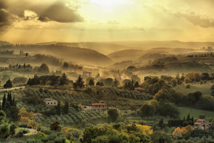 Atmosfere toscane di Damiano