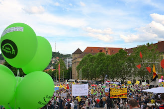 Photo: Schlossplatz in Stuttgart