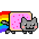 nyan cat progress bar for chrome web store
