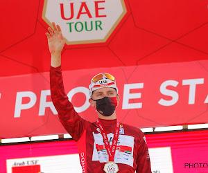 """Pogačar met leiderstrui naar belangrijke bergrit en voelt zich klaar: """"We zullen moeten vechten tot op top Jebel Jais"""""""