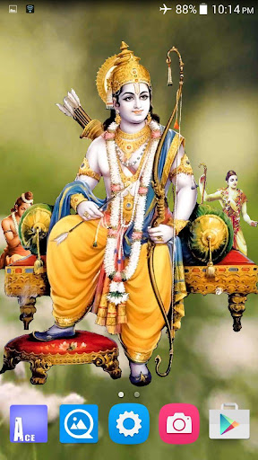 Download 4d Shri Ram Live Wallpaper Google Play Softwares