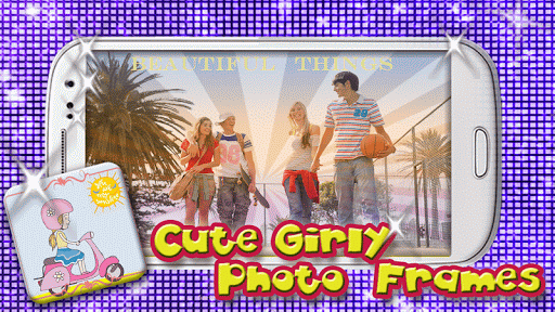 Cute Girly Photo Frames