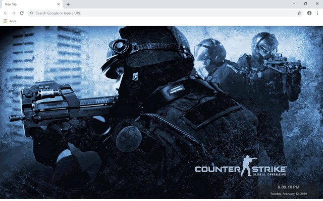 Counter-Strike: Global Offensive New Tab