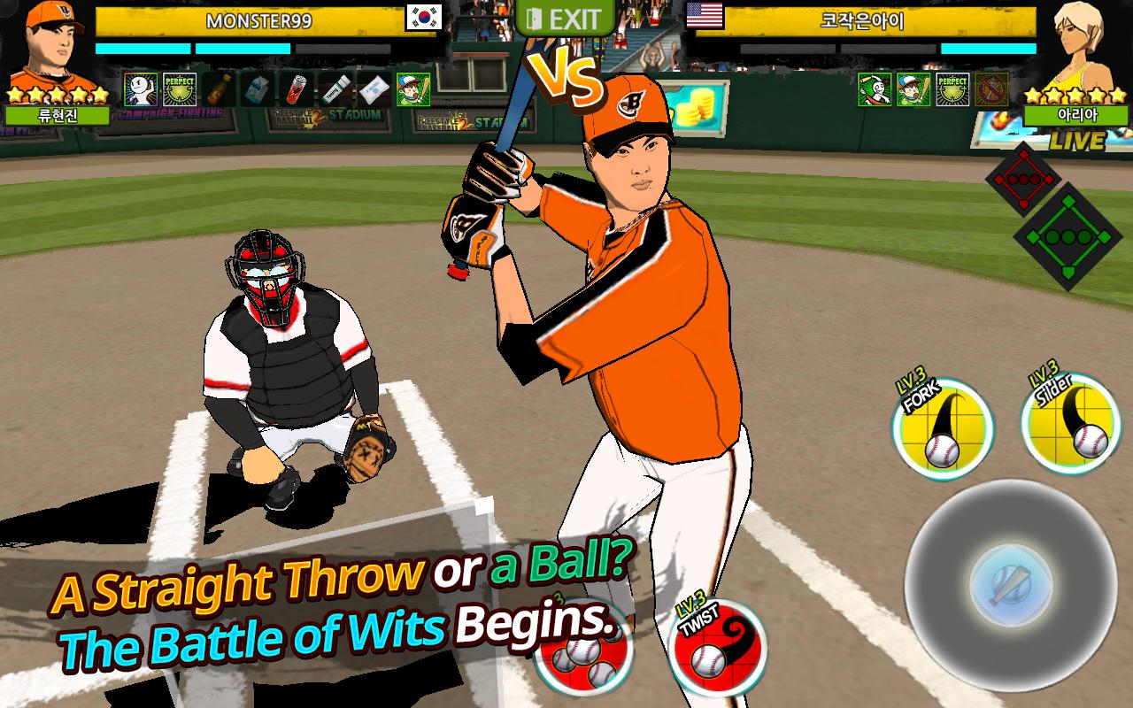 FreeStyle Baseball2: captura de tela