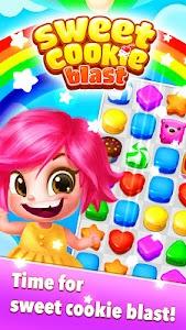 Sweet Cookie Blast v1.24 (Mod Gems)
