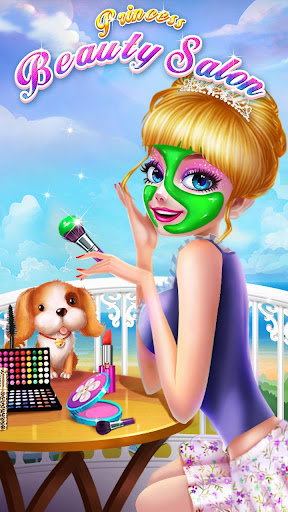ud83dudc60ud83dudc84Princess Beauty Salon - Birthday Party Makeup apkpoly screenshots 3