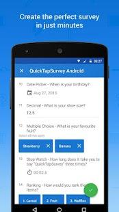QuickTapSurvey Offline Survey - screenshot thumbnail