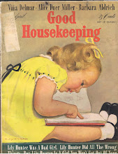 Photo: The April, 1942 issue of Good Housekeeping was 25 cents in the US, 30 cents in Canada. The subscriber was Lora Dingus of Coeburn, Virginia.