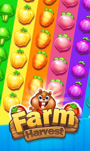 Farm Harvest 3- Match 3 Games  captures d'u00e9cran 1