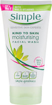 Simple Kind To Skin Moisturising Facial Wash - Multi-Vitamins, 150ml