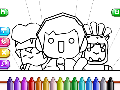 My Tapps Coloring Book- screenshot thumbnail